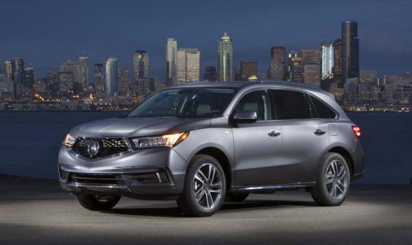 2020 Acura MDX Hybrid Release Date