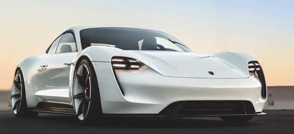 2020 Porsche Mission E Design