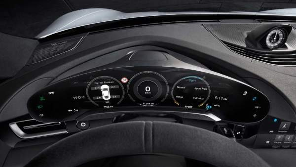 2020-Porsche-Taycan-Interior