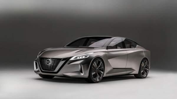 2021 Nissan Maxima Hybrid Exterior