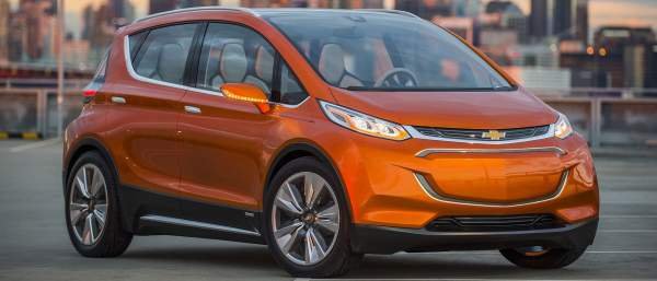 2021 Chevy Bolt Design