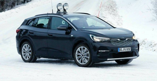 2021 VW ID 4 Spy Shots