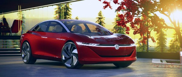 2021 VW Vizzion Autonomous Driving