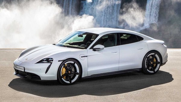 2020 Porsche Taycan Turbo EPA Estimated Range