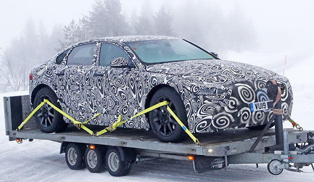 2021 Jaguar XJ Spotted For The First Time