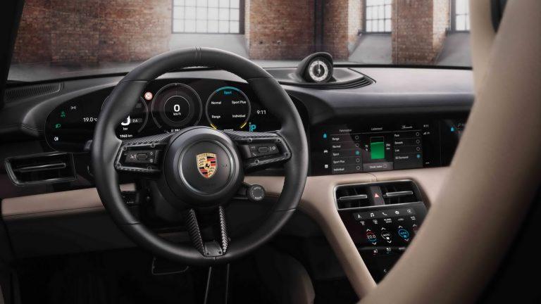 Porsche-Taycan-Interior