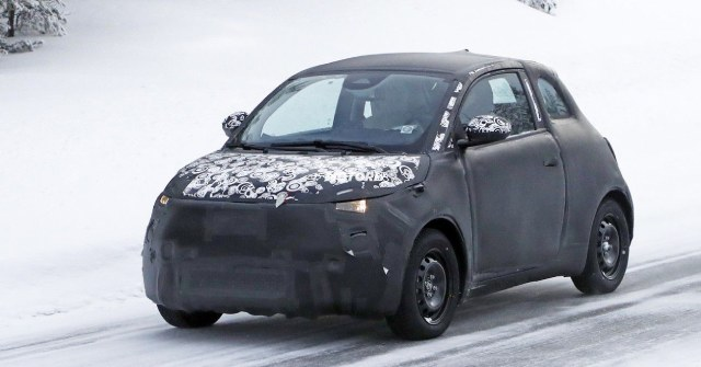 2021 Fiat 500e Electric City Car Spotted During Test Drives