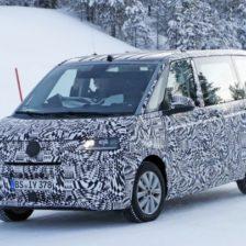 2021 VW T7 Multivan Plug-In Hybrid, and Spy Shots