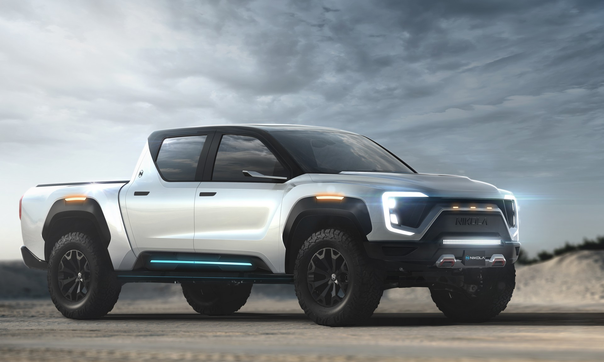 Nikola Badger Electric Pickup Brings 300 Miles of Drive Range