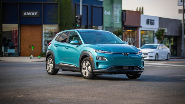 2021 Hyundai Kona Electric Driving Range