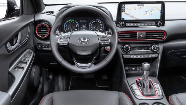 2021-Hyundai-Kona-Electric-Interior