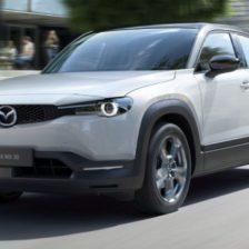 2021 Mazda MX-30 Driving Range and Interior Design