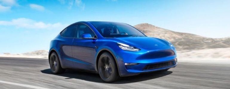 2021 Tesla Model Y Arrives Ahead of Schedule