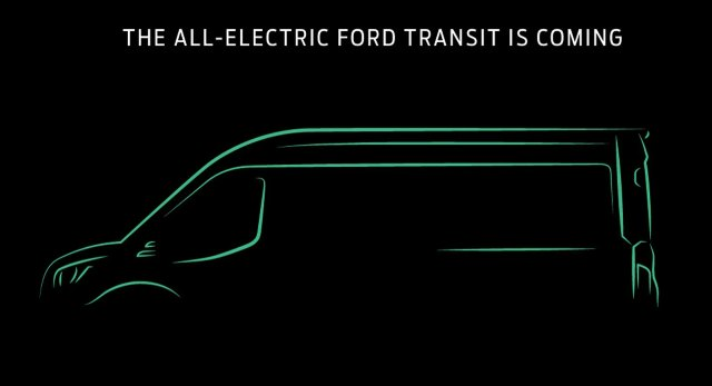All-Electric Ford Transit Comes in 2021