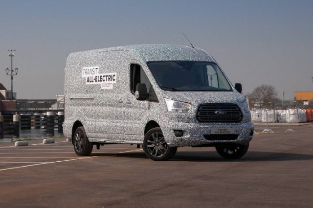 All-Electric Ford Transit Released Photos and Design