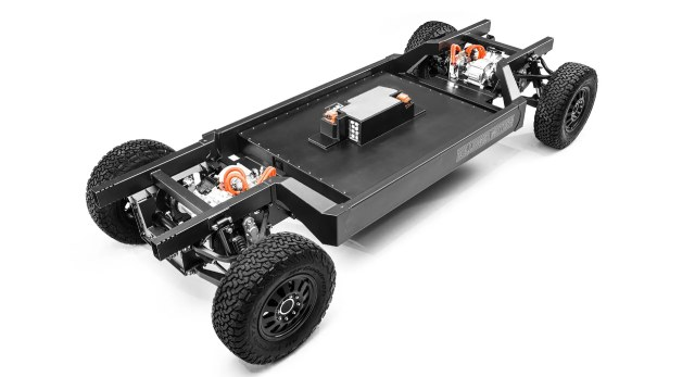 Bollinger Introduces E-Chassis for the B1 and B2