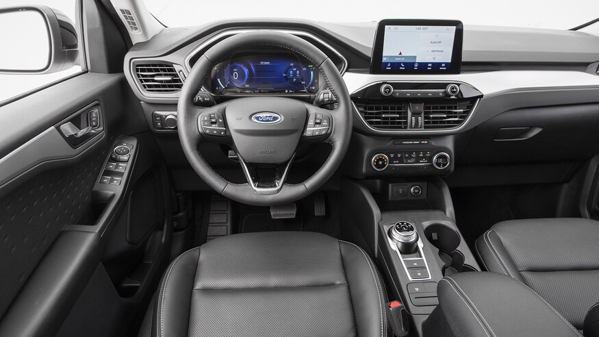 2021 Ford Escape Hybrid cabin