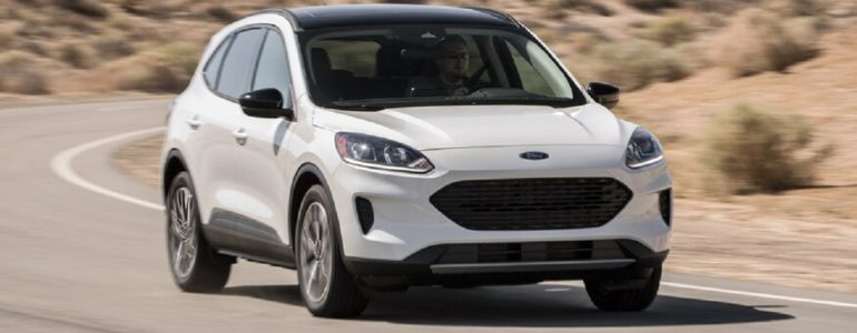 2021 ford escape hybrid looks very modern and stylish