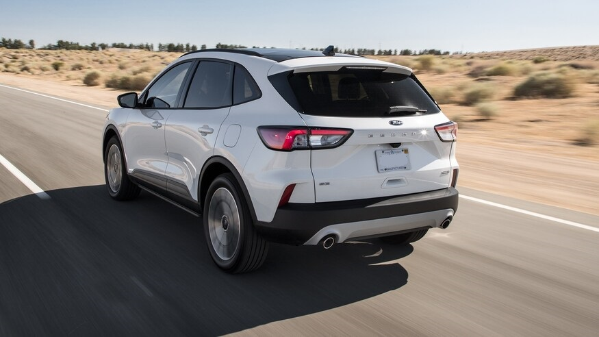 2021 Ford Escape Hybrid rear