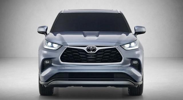 2021 Toyota Highlander Hybrid front