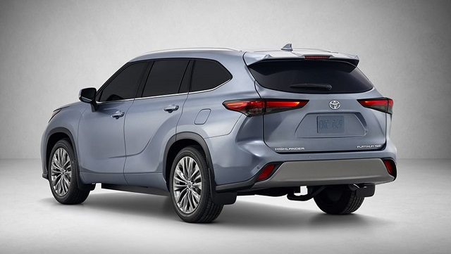 2021 Toyota Highlander Hybrid rear