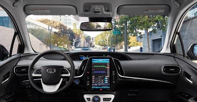 2021 Toyota Prius cabin