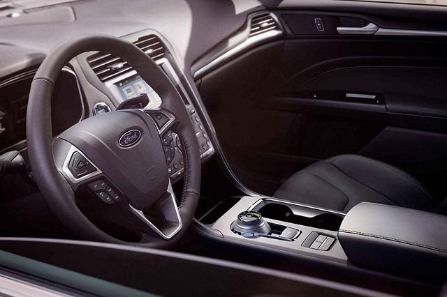 2021 Ford Fusion Hybrid cabin