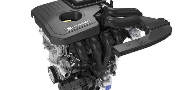 2021 Ford Fusion Hybrid engine