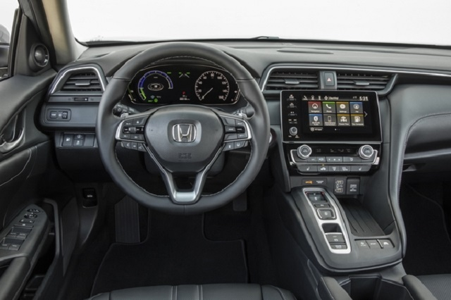 2021 Honda Insight cabin