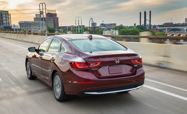 2021 Honda Insight rear