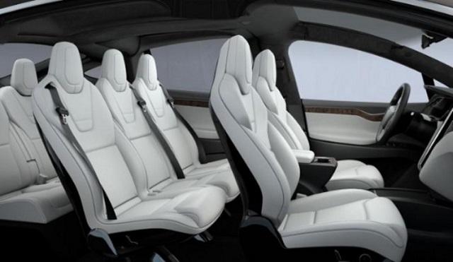 2021 Tesla Model X cabin