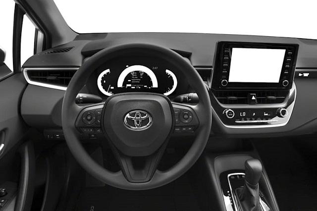 2021 Toyota Corolla Hybrid cabin