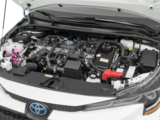 2021 Toyota Corolla Hybrid engine look
