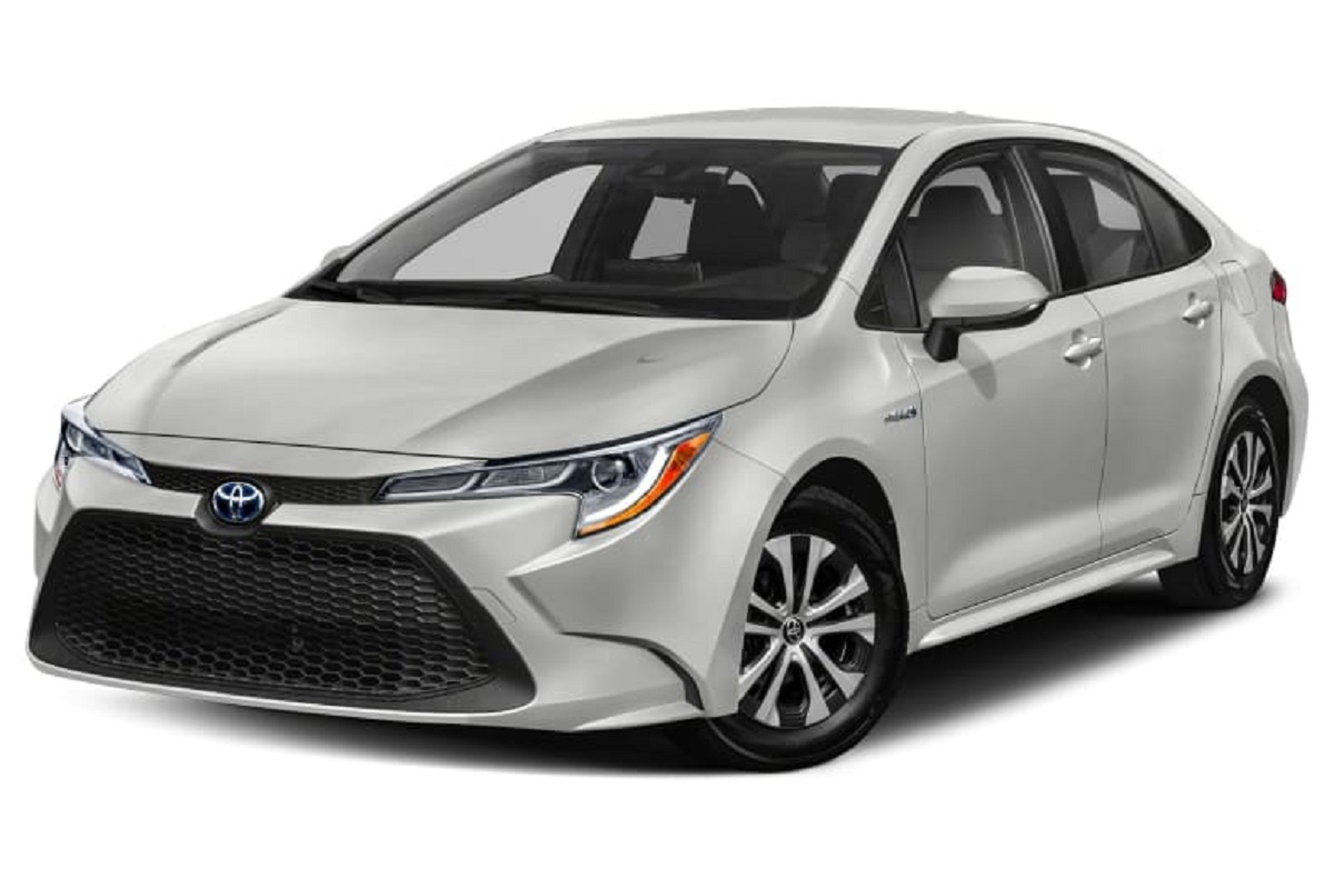2021 Toyota Corolla Hybrid front look