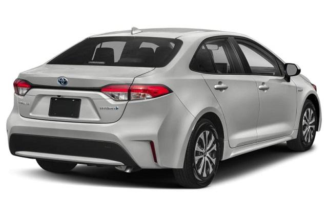 2021 Toyota Corolla Hybrid rear look