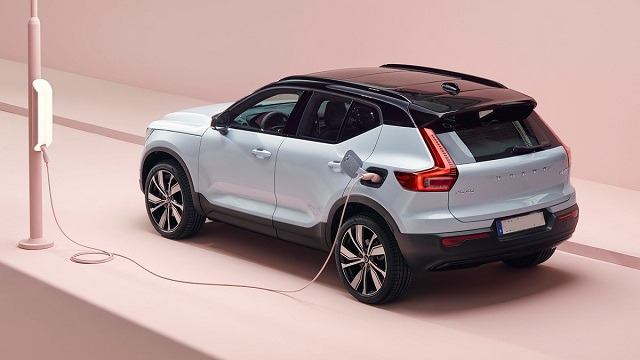 2021 Volvo XC40 Recharge rear
