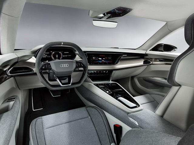 2021 Audi E-Tron GT cabin