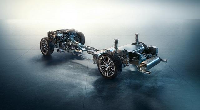 2021 BMW 530e Plug-In Hybrid system