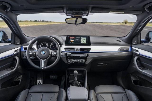 2021 BMW X2 PHEV cabin