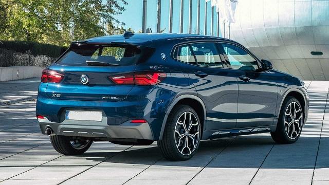 2021 BMW X2 PHEV rear