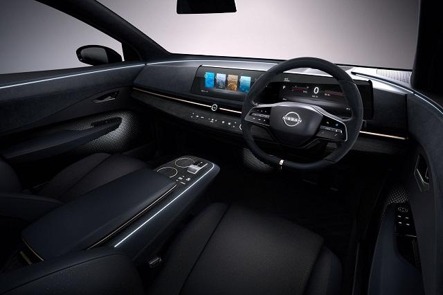 2021 Nissan Ariya cabin