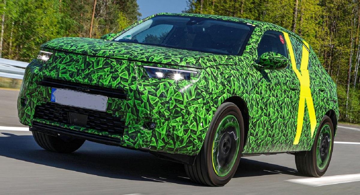 2021 Opel Mokka Electric front look