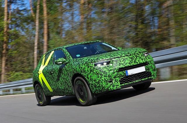 2021 Opel Mokka Electric front