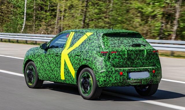 2021 Opel Mokka Electric rear