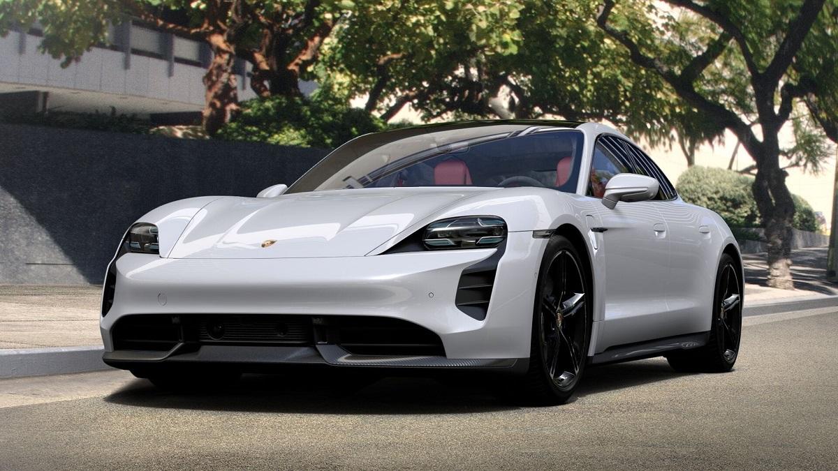 2021 Porsche Taycan front