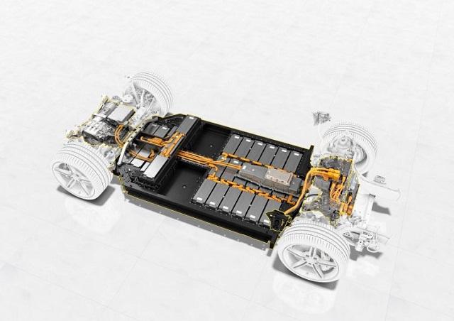 2021 Porsche Taycan system