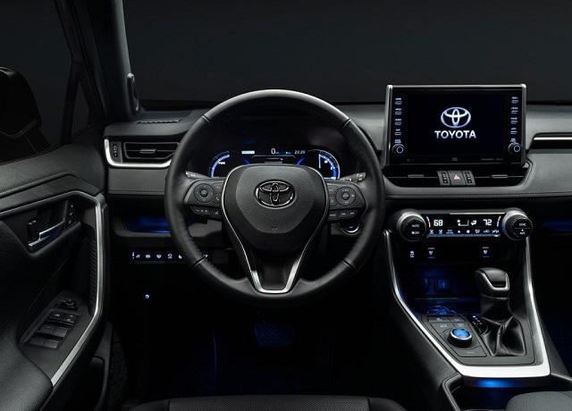 2021 Toyota RAV4 Prime cabin