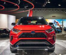 2021 Toyota RAV4 Prime front