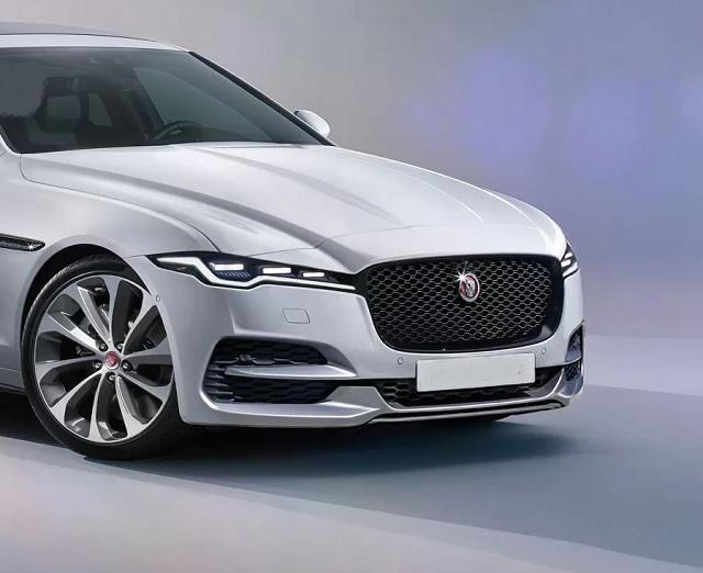 2022 Jaguar XJ front