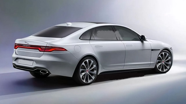 2022 Jaguar XJ rear
